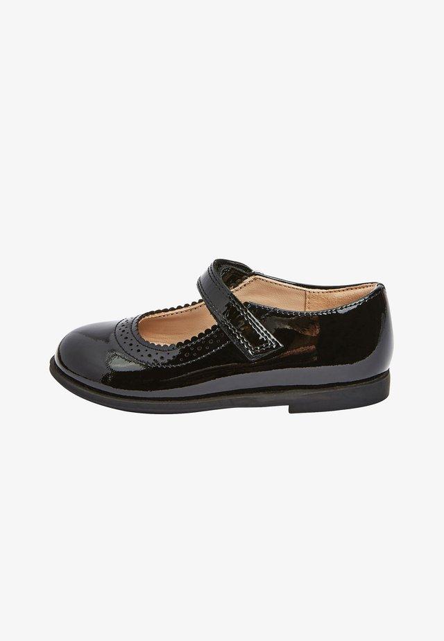 MARY JANE  - Ankle strap ballet pumps - black