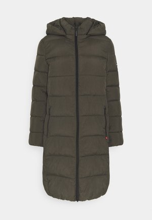 COAT - Winter coat - black olive