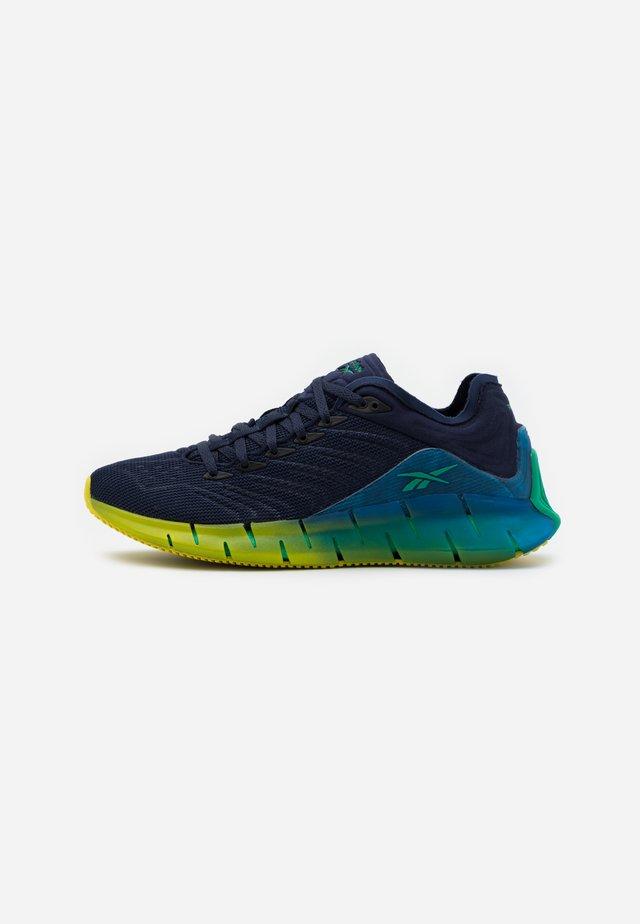 ZIG KINETICA  - Sneakersy niskie - vector navy/horizon blue/chartreuse