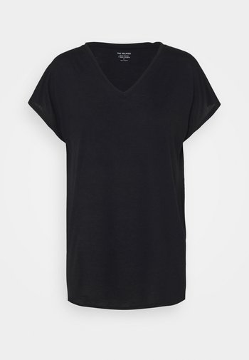 RELAXED  - T-shirts - black