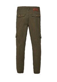 WE Fashion - Cargobroek - army green - 1