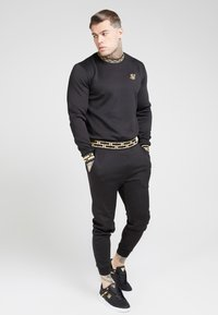 SIKSILK - CHAIN - Long sleeved top - black/gold - 1
