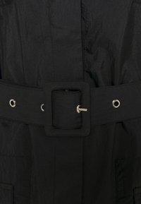 NA-KD - PATCH POCKET JACKET - Short coat - black - 2