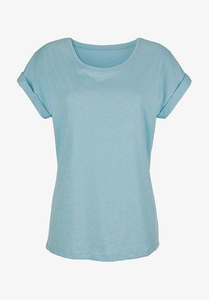 Basic T-shirt - hellgrau