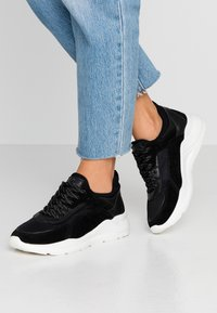 Anna Field - LEATHER - Sneakers laag - black - 0