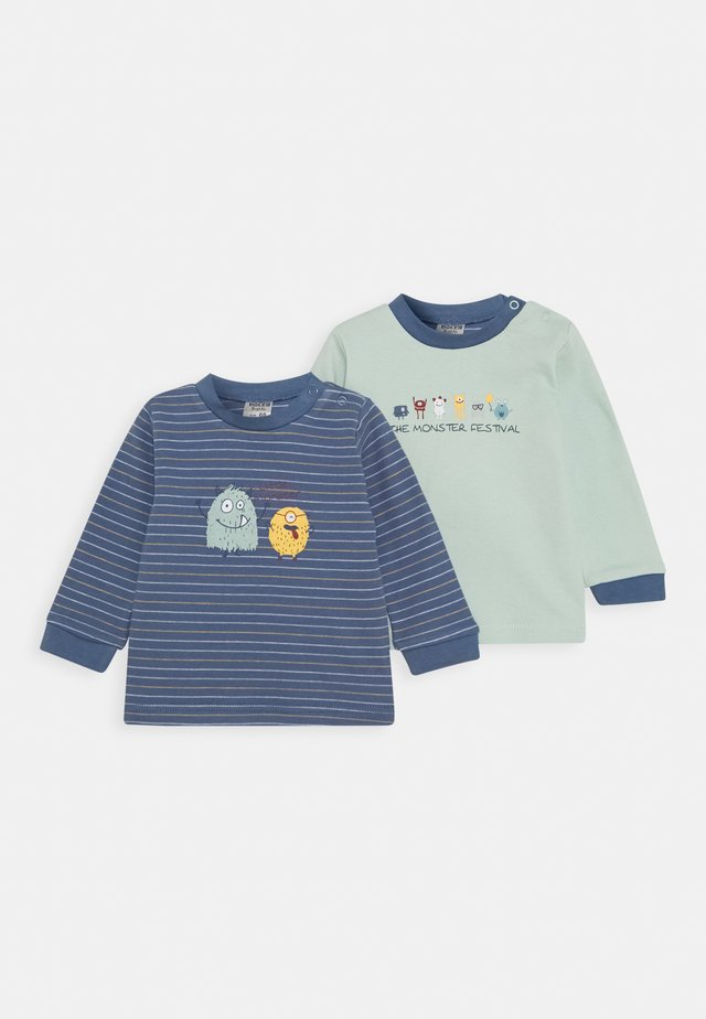 2 PACK - Langærmede T-shirts - blue