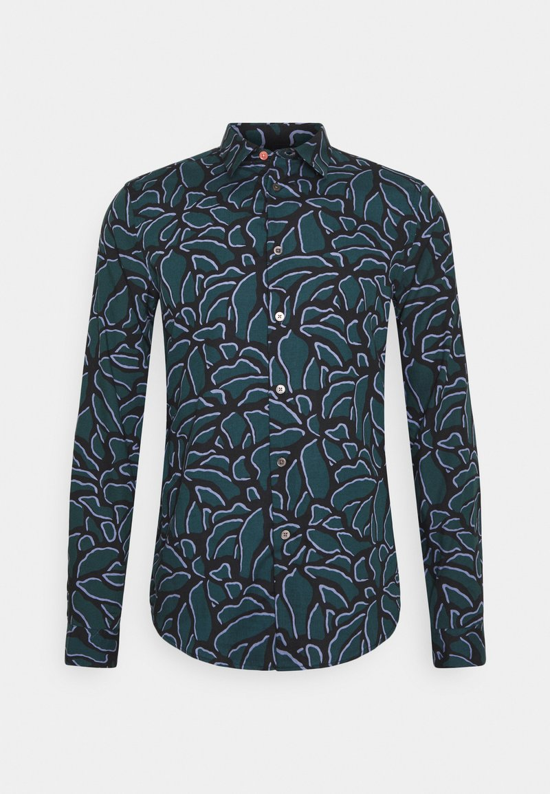 PS Paul Smith - Shirt - black/blue