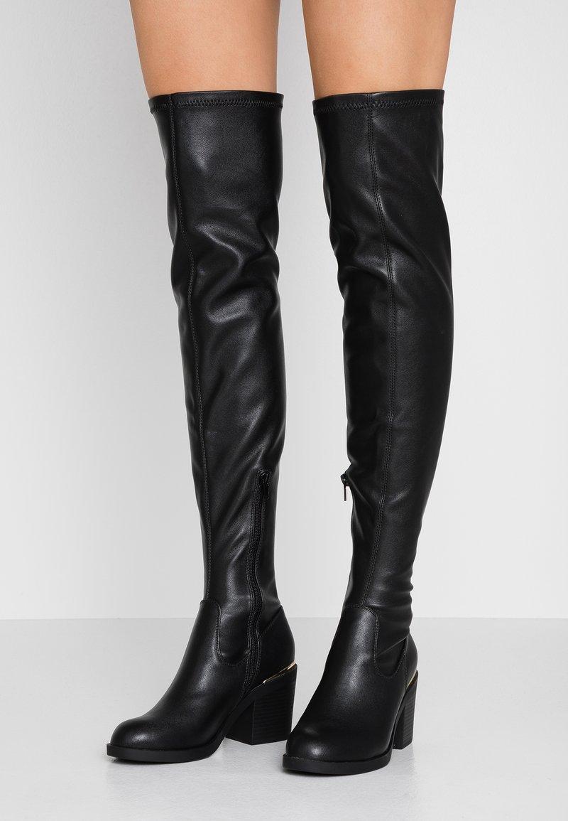 Even&Odd - Stivali sopra il ginocchio - black