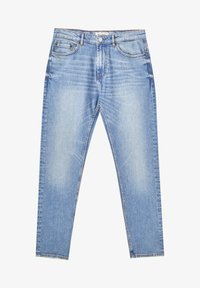 PULL&BEAR - Jeans straight leg - mottled light blue - 6