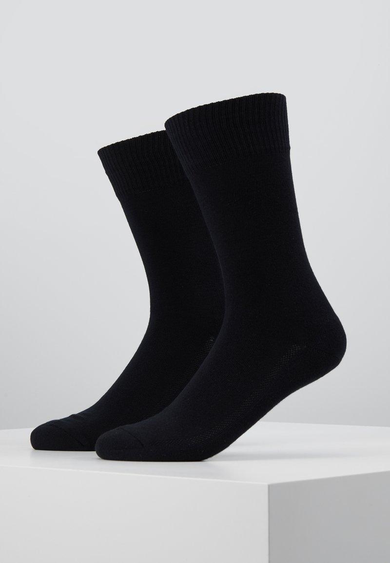 Levi's® - CUSHIONED REGULAR CUT 2PACK - Socks - jet black