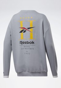 Reebok Classic - CLASSICS HOTEL CREW SWEATSHIRT - Sweatshirt - grey - 8