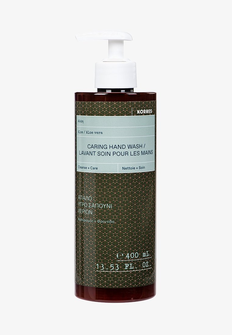 Korres - ALOE VERA NOURISHING HAND SOAP - Liquid soap - -