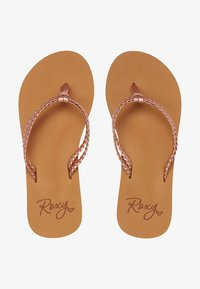 Roxy - COSTAS  - Pool shoes - rose gold - 1