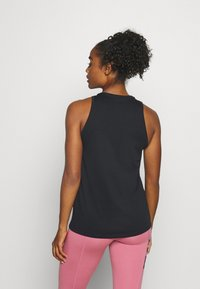 Nike Performance - DRY TANK GET FIT - Funktionsshirt - black - 2
