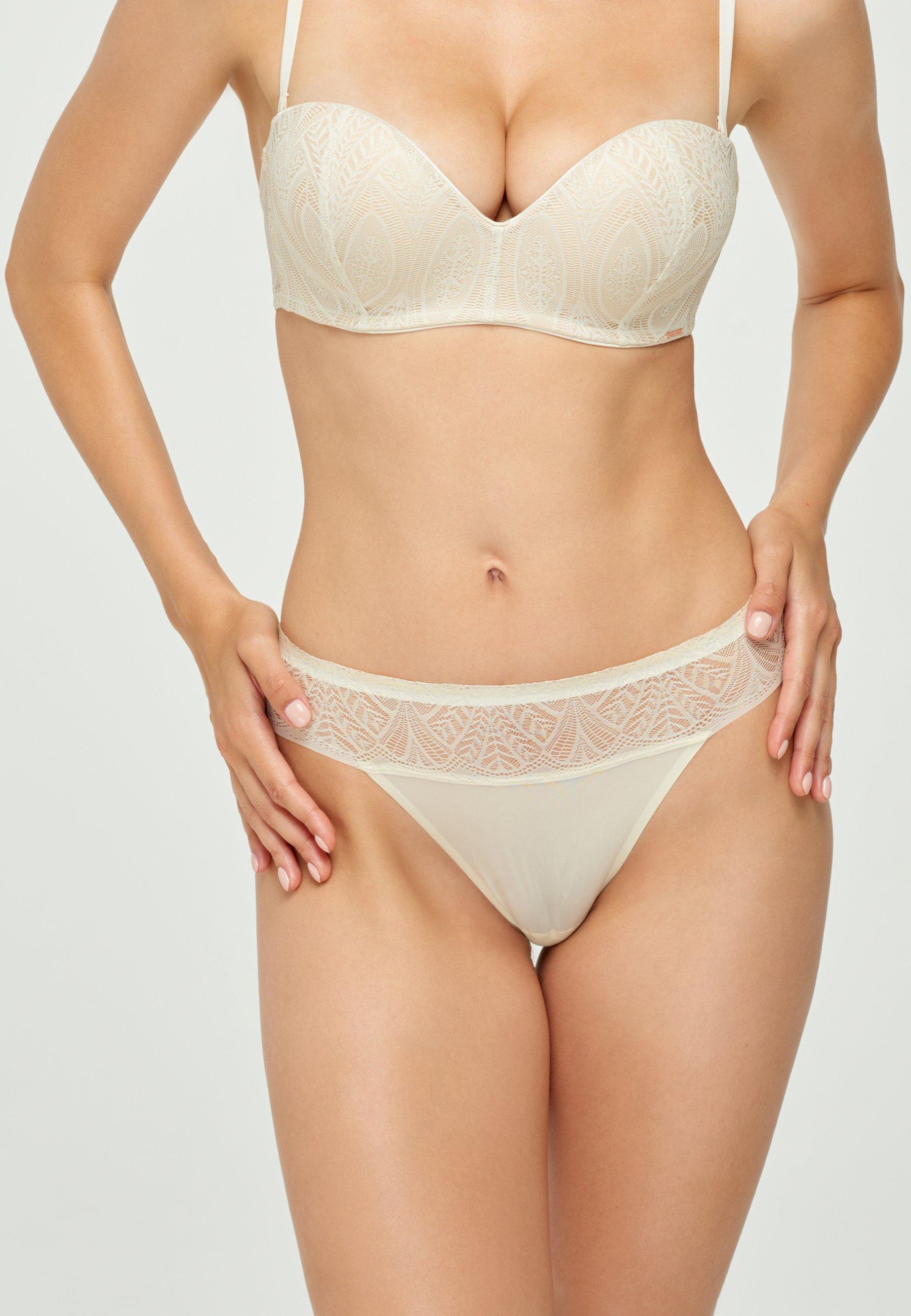 Femme String - white