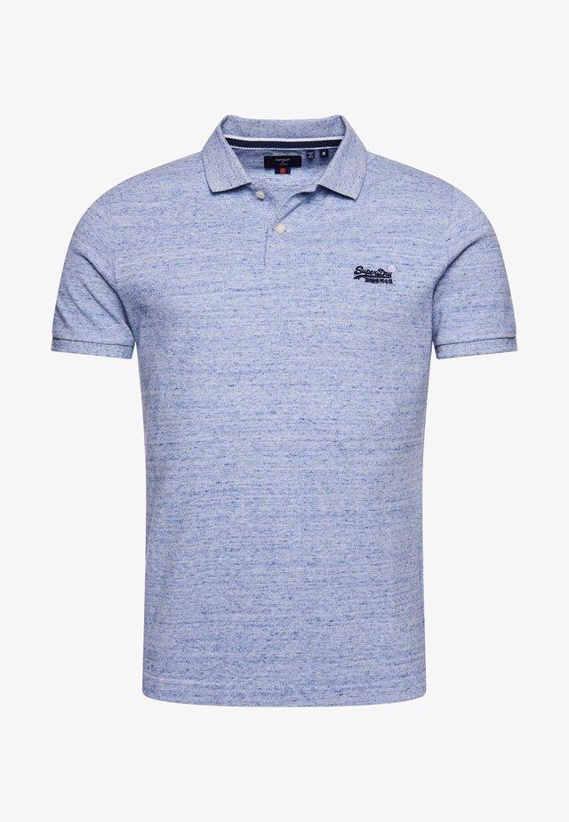 Poloshirt - tidal blue grit
