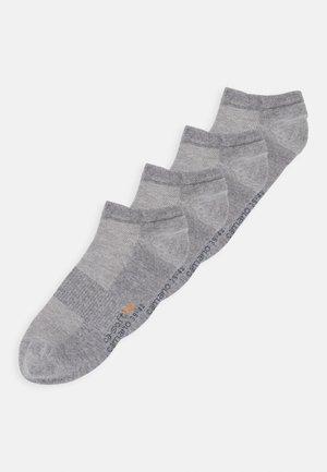 ONLINE SNEAKER UNISEX 4 PACK - Socks - light grey melange