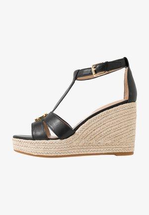 HALE CASUAL - Sandály na vysokém podpatku - black