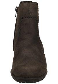 Rieker - Korte laarzen - anthracite/black - 5