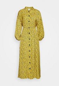 Gestuz - THALLOGZ LONG DRESS  - Shirt dress - yellow - 4