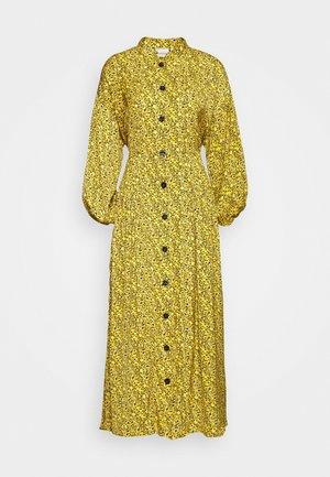 THALLOGZ LONG DRESS  - Košilové šaty - yellow