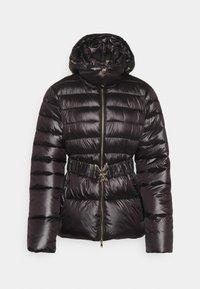 Patrizia Pepe - PUFFER BELTED - Winter jacket - nero - 5