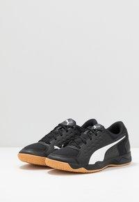 Puma - AURIZ UNISEX - Tenisové boty na všechny povrchy - white/black - 3