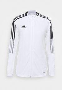 adidas Performance - TIRO 21  - Treningsjakke - white - 0