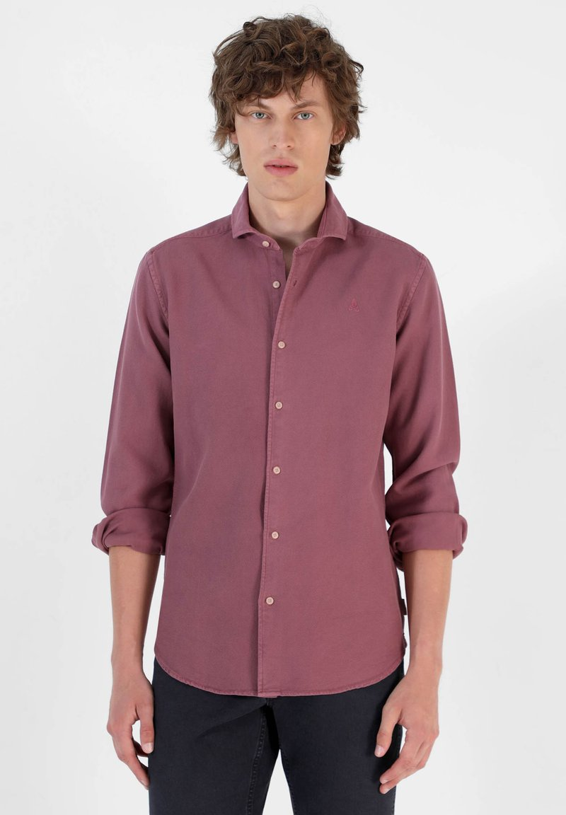 Scalpers - Shirt - burgundy