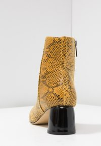 Topshop - BLAIR SMART BOOT - Classic ankle boots - yellow - 5