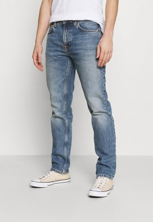 GRITTY JACKSON - Džíny Straight Fit - blue denim