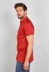 Gabbiano - Polo shirt - rusty red - 3