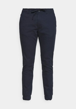 CROPPED JOGGER FIT BASIC - Trousers - sky captain blue