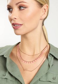 Guess - Necklace - rose - 0