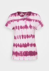 GAP - FOREVERSOFT CREW - Print T-shirt - pink - 0