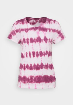 FOREVERSOFT CREW - T-shirt con stampa - pink