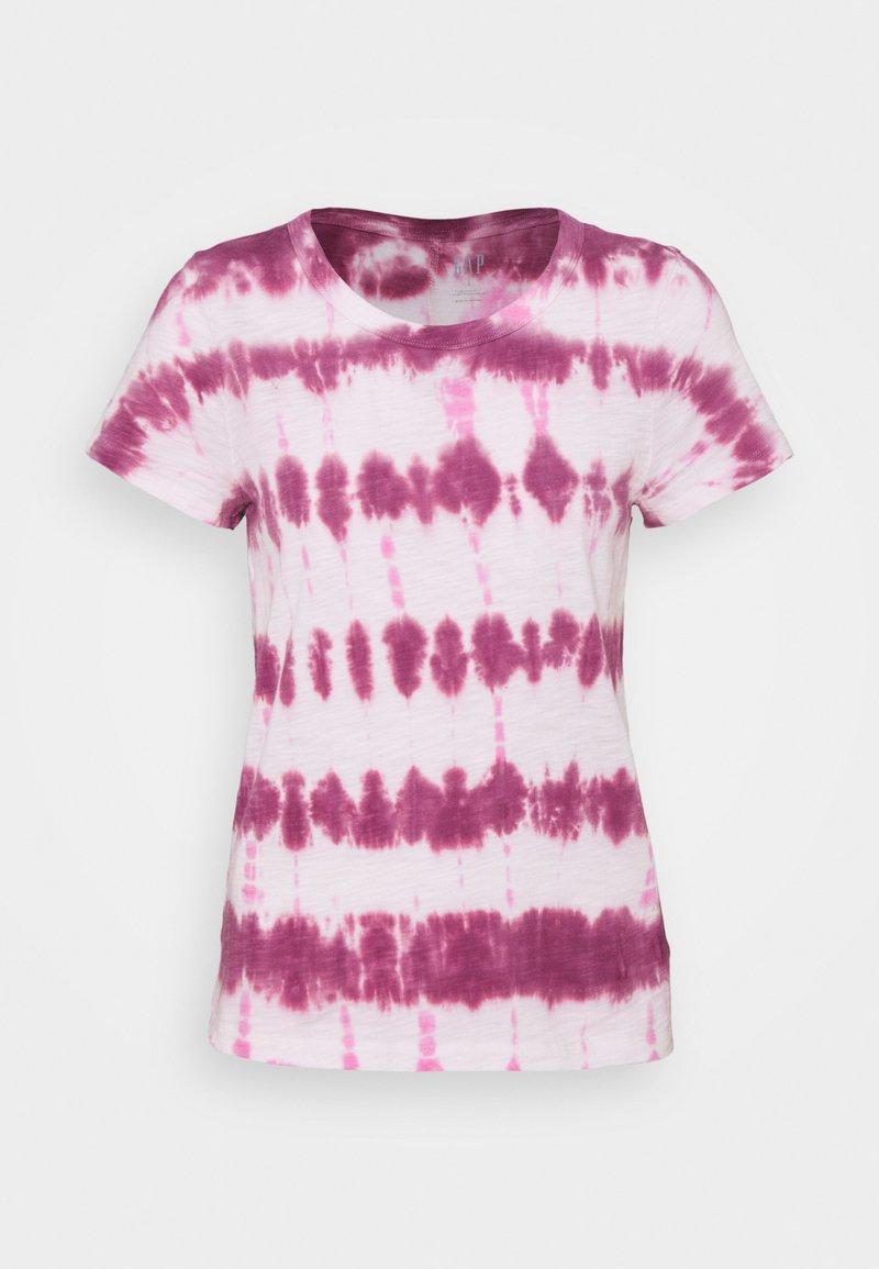 GAP - FOREVERSOFT CREW - Print T-shirt - pink