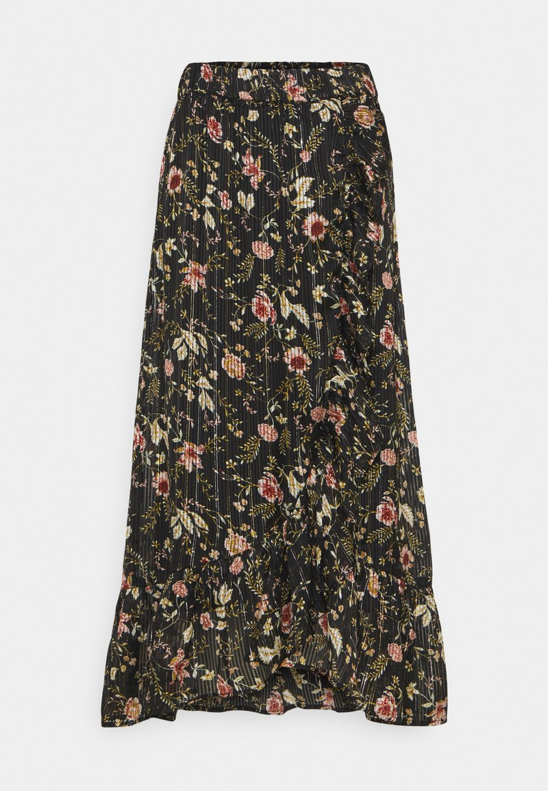 Freequent - BJORK - Maxi skirt - black