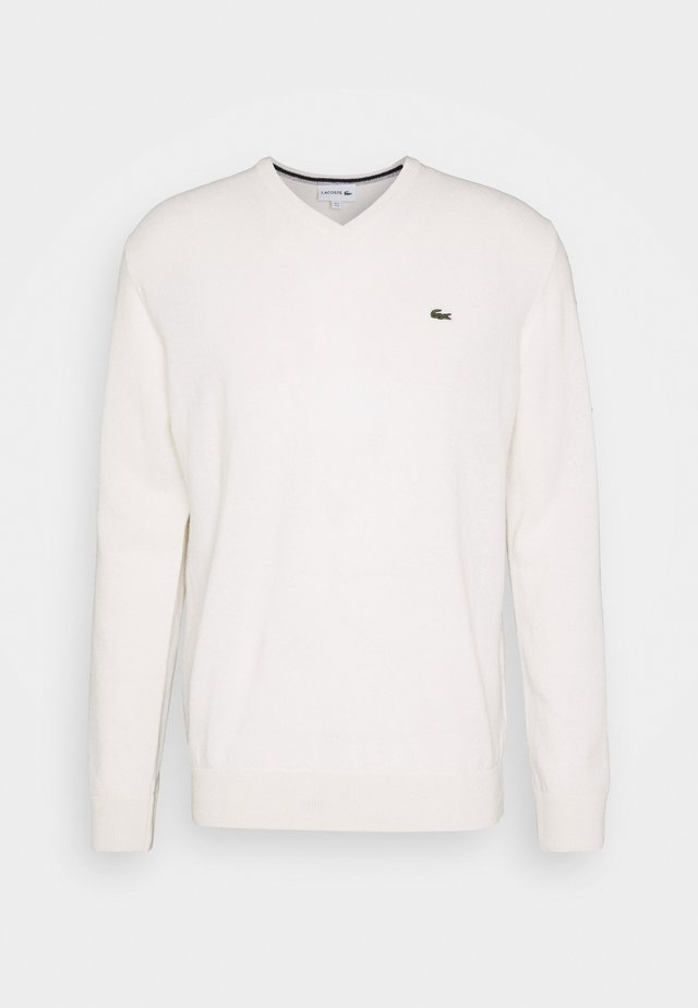 Pullover - flour/silver chine