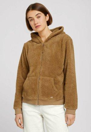 Fleece jacket - soft camel