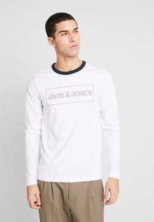 JCOISLAND TEE CREW NECK - Long sleeved top - white