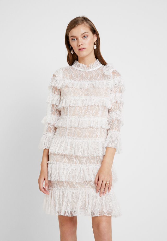 CARMINE DRESS - Cocktailjurk - white