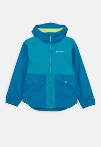 Columbia - RAINY TRAILS JACKET - Outdoor jacket - fjord blue - 0