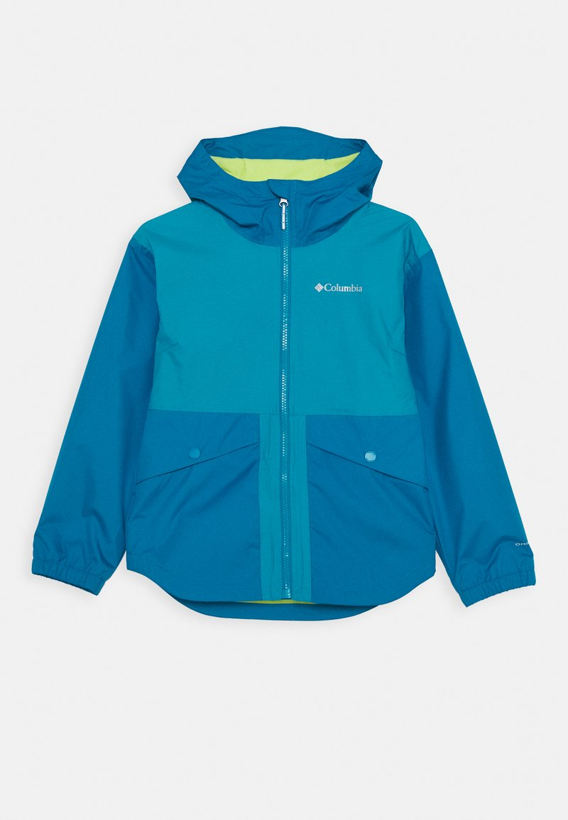 Columbia - RAINY TRAILS JACKET - Outdoor jacket - fjord blue