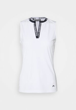 LEYA SLEEVELESS GOLF - Sports shirt - white