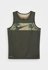 Nike Performance - Sports shirt - olive - 3