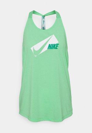 DRY ELASTIKA - Camiseta de deporte - green glow/neptune green