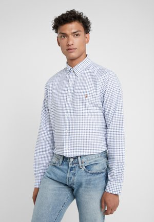 OXFORD CUSTOM FIT - Shirt - white/navy