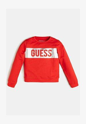 LOGO - Sweatshirt - rot/merf.