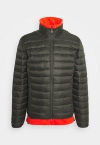 WILSON 2IN1 - Lehká bunda - khaki/orange